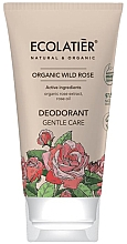 Düfte, Parfümerie und Kosmetik Deodorant mit wilder Rose - Ecolatier Organic Wild Rose Deodorant