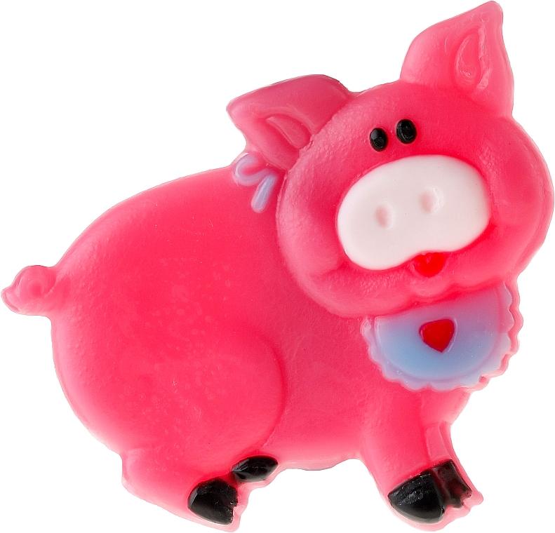 Glycerinseife mit Kaugummiaroma - Chlapu Chlap Glycerine Soap Pig