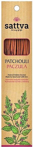 Räucherstäbchen Patchouli - Sattva Patchouli Incense Sticks