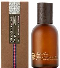 Düfte, Parfümerie und Kosmetik Bath House Cuban Cedar & Lime - Eau de Cologne