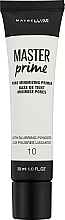 Düfte, Parfümerie und Kosmetik Porenminimierender Primer - Maybelline Master Prime 10 Pore Minimizing