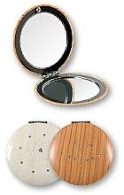 Kosmetischer Taschenspiegel braun 85666 - Top Choice — Bild N2