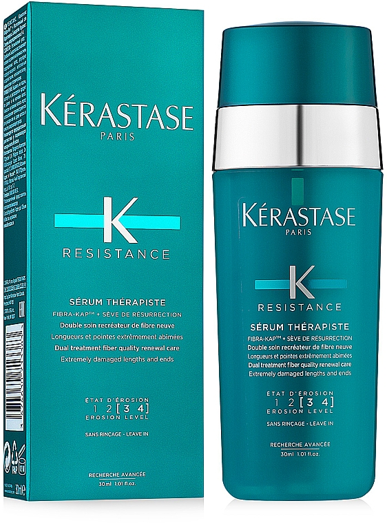 Revitalisierendes Serum für geschädigtes Haar - Kerastase Resistance Therapist Renewal Leave-in Serum