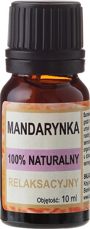 100% Natürliches entspandendes Mandarinenöl - Biomika Tangerine Oil