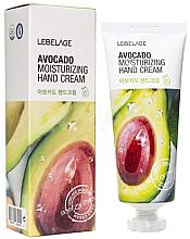 Düfte, Parfümerie und Kosmetik Feuchtigkeitsspendende Handcreme mit Avocadoöl - Lebelage Avocado Moisturizing Hand Cream