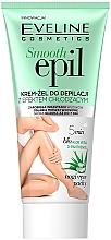 Düfte, Parfümerie und Kosmetik Glättendes Enthaarungsgel mit kühlendem Effekt - Eveline Cosmetics Smooth Epil