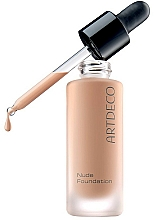 Düfte, Parfümerie und Kosmetik Ultraleichte Foundation - Artdeco Nude Foundation