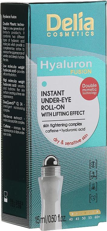 Liftinggel für die Augenpartie - Delia Lifting Roll-On 3D Hyaluron Gel