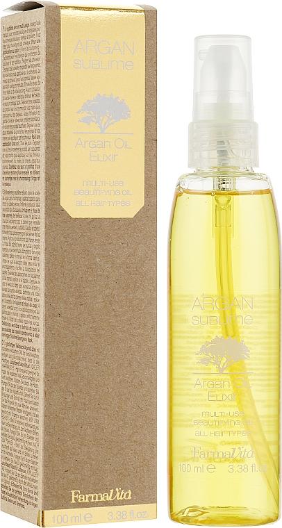 Haarelixier mit Arganöl - Farmavita Argan Sublime Elexir