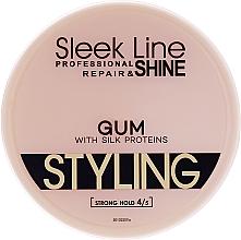 Düfte, Parfümerie und Kosmetik Haargel - Sleek Line Styling Gum With Silk