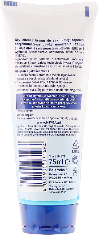 Schnell einziehende Handcreme - Nivea Express Hydration Hand Cream — Bild N2