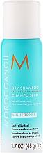 Düfte, Parfümerie und Kosmetik Trockenshampoo für helles Haar mit marokkanischem Öl - Moroccanoil Dry Shampoo for Light Tones