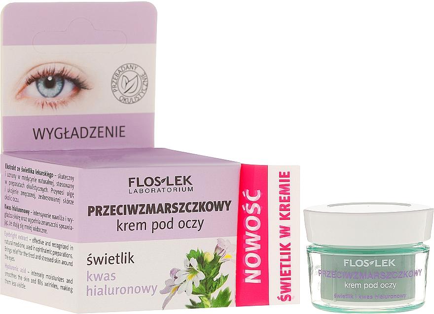 Anti-Falten Augencreme mit Hyaluronsäure - Floslek