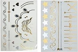 Düfte, Parfümerie und Kosmetik Körpertattoos Metallic - Snails Body Tattoo