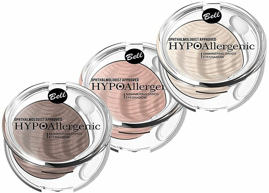 Hypoallergener Creme-Lidschatten - Bell Hypoallergenic Shimmering Sand Bell Eyeshadow