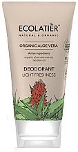 Düfte, Parfümerie und Kosmetik Deocreme mit Aloe Vera und Teebaumöl - Ecolatier Organic Aloe Vera Deodorant
