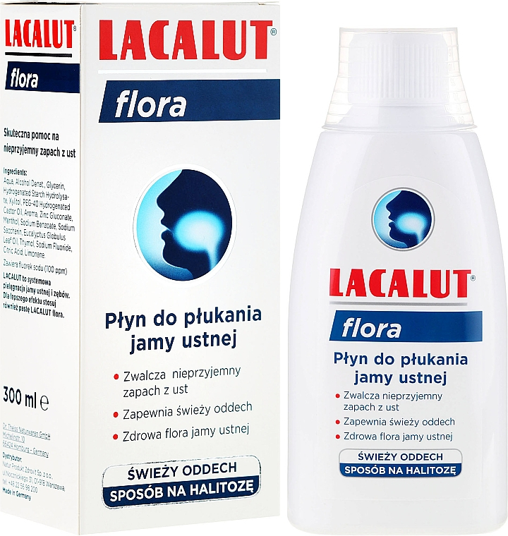 Mundspülung Flora - Lacalut Flora