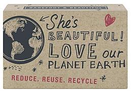 Düfte, Parfümerie und Kosmetik Natürliche Seife She`s Beautiful! mit Bergamotte-Duft - Bath House Barefoot and Beautiful Hand Soap She`s Beautiful! Bergamot