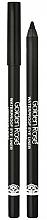 Düfte, Parfümerie und Kosmetik Wasserdichter Kajalstift - Golden Rose Waterproof Eyeliner Longwear & Soft Ultra Black