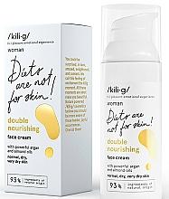 Düfte, Parfümerie und Kosmetik Nährende Gesichtscreme mit Argan- und Mandelöl - Kili·g Woman Double Nourishing Cream