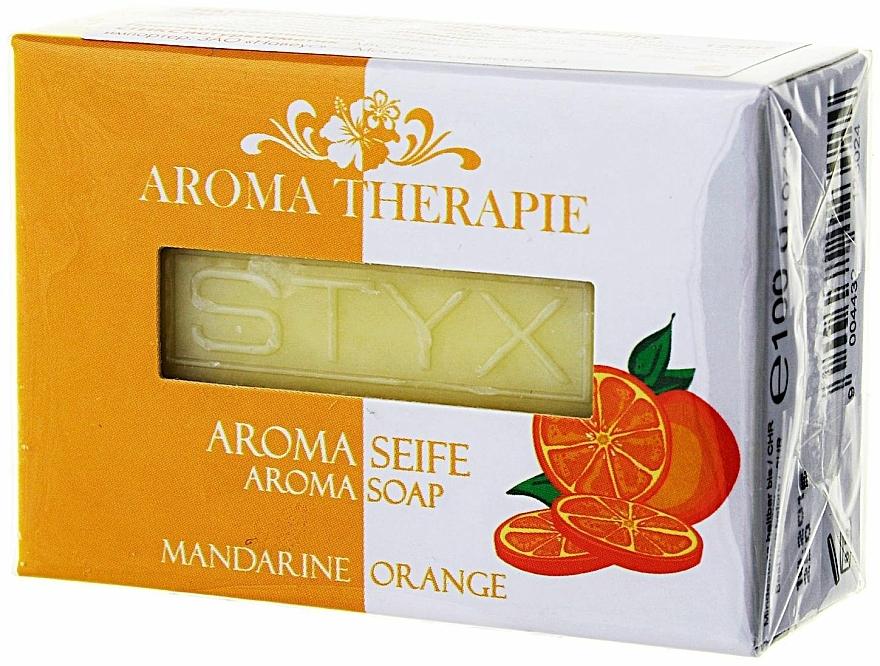 Naturseife mit Orangen- und Mandarinenduft - Styx Naturcosmetic Seife