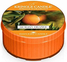 Düfte, Parfümerie und Kosmetik Duftkerze Sicilian Orange - Kringle Candle Sicilian Orange