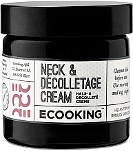 Düfte, Parfümerie und Kosmetik Hals- und Dekolletécreme - Ecooking Neck & Decolletage Cream
