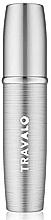 Düfte, Parfümerie und Kosmetik Nachfüllbarer Parfümzerstäuber Silber - Travalo Lux Silver Refillable Spray