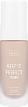 Düfte, Parfümerie und Kosmetik Gesichtsprimer - Wibo Keep It Perfect Soft Matte