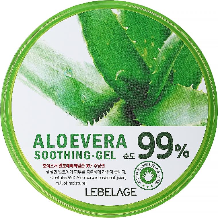 Beruhigendes und feuchtigkeitsspendendes Gesichts- und Körpergel mit 99% Aloe Vera - Lebelage Moisture Aloe Vera 99% Soothing Gel