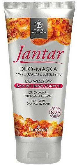 Jasmine Maske für erschöpftes Haar - Farmona Jantar Hair Mask