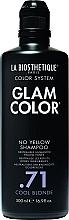 Düfte, Parfümerie und Kosmetik Anti-Gelbstich Shampoo für kühle Blondtöne - La Biosthetique Glam Color No Yellow Shampoo .71 Cool Blonde