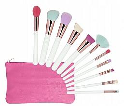 Düfte, Parfümerie und Kosmetik Make-up Pinselset mit Etui 11-tlg. mehrfarbig - Tools For Beauty MiMo Multicolor Set