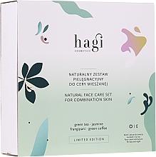 Düfte, Parfümerie und Kosmetik Gesichtspflegeset - Hagi Natural Face Care Set (Natürliche Gesichtscreme 30ml + Natürliches Gesichtsserum 30ml)