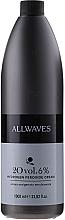 Düfte, Parfümerie und Kosmetik Entwicklerlotion 6% - Allwaves Cream Hydrogen Peroxide 6%