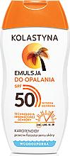 Düfte, Parfümerie und Kosmetik Wasserfeste Sonnenschutzlotion SPF 50 - Kolastyna