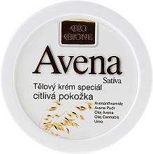 Düfte, Parfümerie und Kosmetik Anti-Irritation Körpercreme mit Hanf für empfindliche Haut - Bione Cosmetics Avena Sativa Body Cream Special