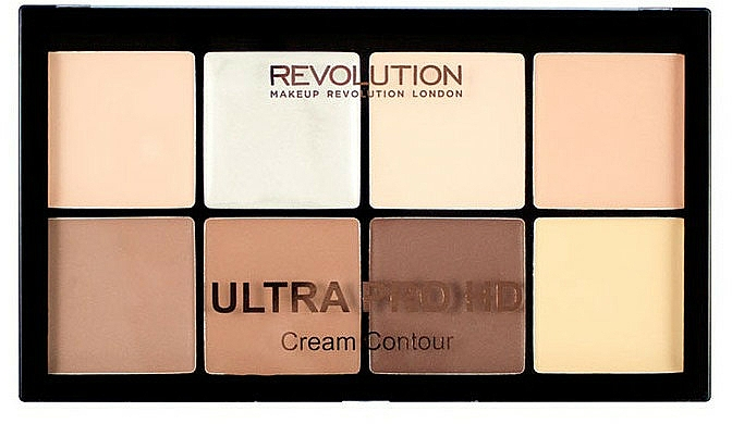 Konturierpalette für das Gesicht - Makeup Revolution HD Pro Cream Contour