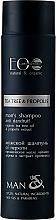 "Düfte, Parfümerie und Kosmetik Anti-Schuppen Shampoo ""Repair & Care"" - ECO Laboratorie Man's Shampoo Tee Tree & Propolis"