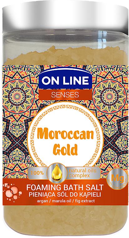 Badesalze - On Line Senses Bath Salt Moroccan Gold