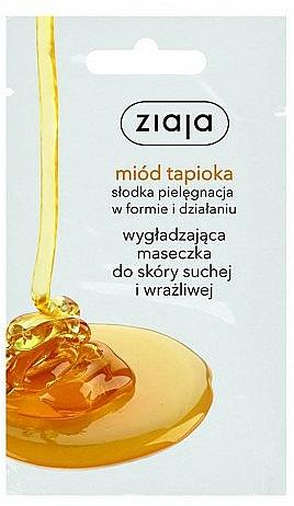 Glättende Gesichtsmaske mit Tapioka-Honig - Ziaja