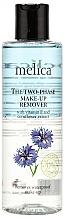 Düfte, Parfümerie und Kosmetik Make-up Entferner mit Vitamin E und Kornblumenextrakt - Melica Organic The Two Phase Make-Up Remover
