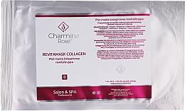 Düfte, Parfümerie und Kosmetik Revitalisierende Tuchmaske für das Gesicht mit Kollagen - Charmine Rose Revitamask Collagen