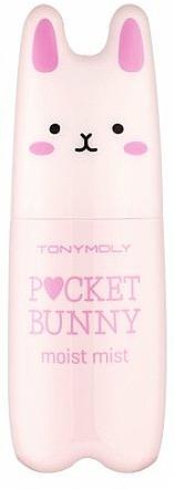 Feuchtigkeitsspendender Gesichtsnebel mit mineralreichem keltischem Wasser - Tony Moly Pocket Bunny Moist Mist