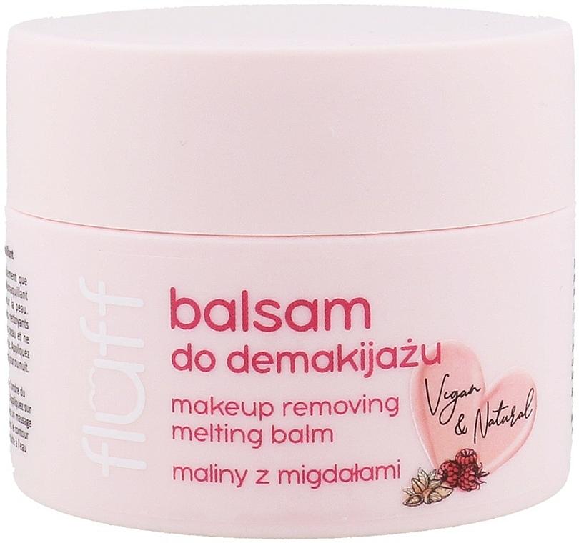 Natürlicher Gesichtsbalsam zum Abschminken mit Himbeere und Mandel - Fluff Makeup Removing Melting Balm