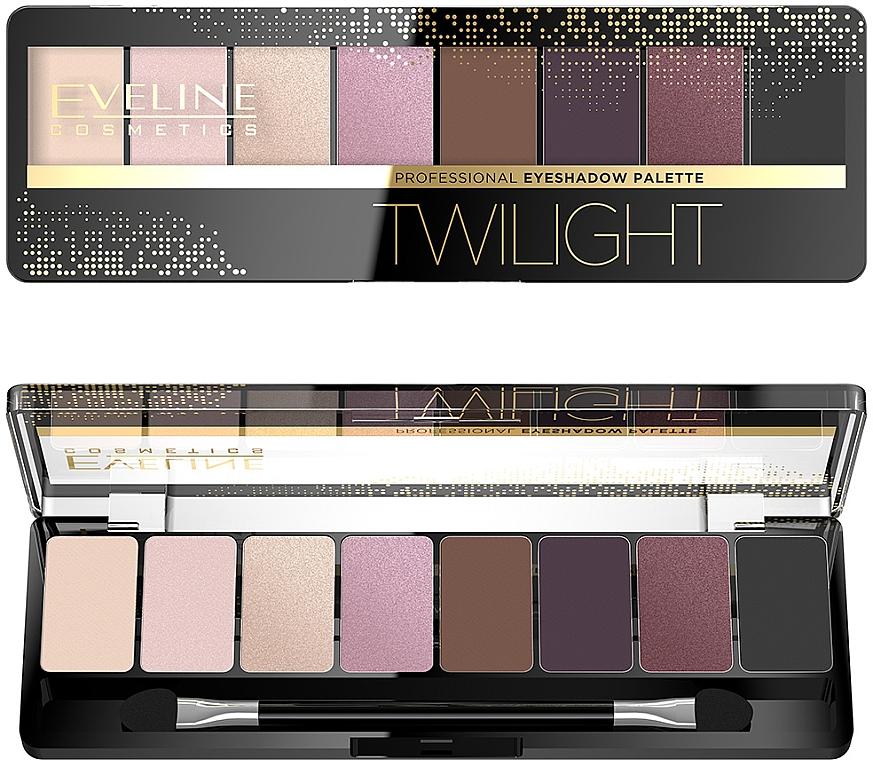Lidschattenpalette - Eveline Cosmetics Eyeshadow