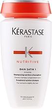 Düfte, Parfümerie und Kosmetik Pflege-Shampoo für normales bis leicht trockenes Haar - Kerastase Bain Satin 1 Irisome Nutritive Shampoo