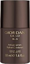 Düfte, Parfümerie und Kosmetik Oriflame Giordani Gold Man - Deo Roll-on Antitranspirant