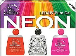 Düfte, Parfümerie und Kosmetik Set - IBD Just Gel Polish Neon Kit (Gel Nagellack 3*14ml)