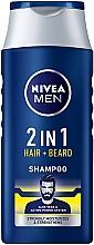"""Düfte, Parfümerie und Kosmetik 2in1 Shampoo und Haarspülung """"Protect & Care"""" - NIVEA Men 2in1Protect & Care Shampoo"""